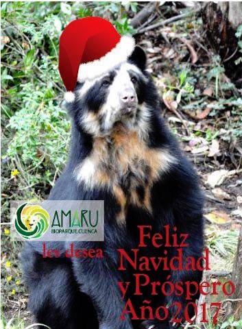 Zoo-Bioparque-Amaru-Cuenca-FELIZ NAVIDAD!!