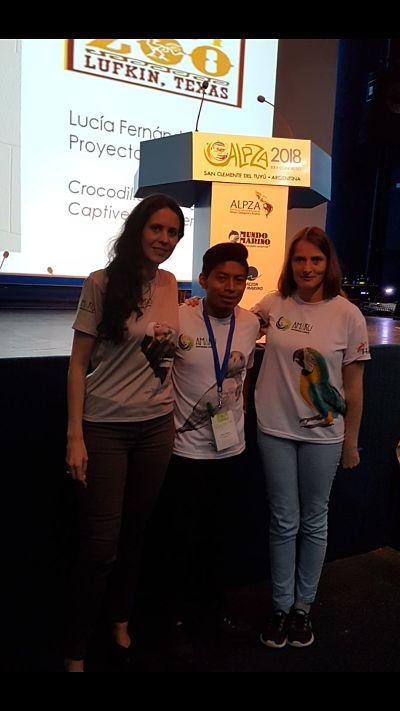 Zoo-Bioparque-Amaru-Cuenca-Representantes del Equipo de AMARU participan en el Congreso ALPZA 2018