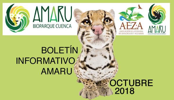 Zoo-Bioparque-Amaru-Cuenca-Boletín Octubre 2018