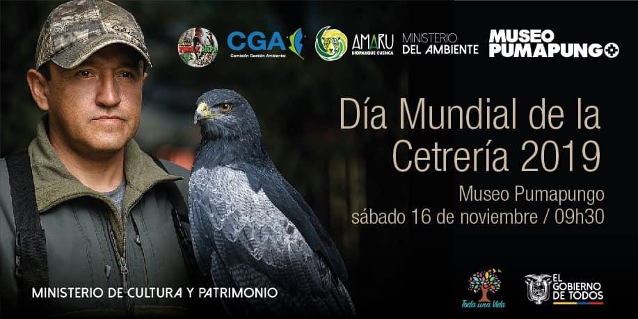 Zoo-Bioparque-Amaru-Cuenca-La labor de las aves rapaces fue exhibido al conmemorar el día mundial de la Cetrería